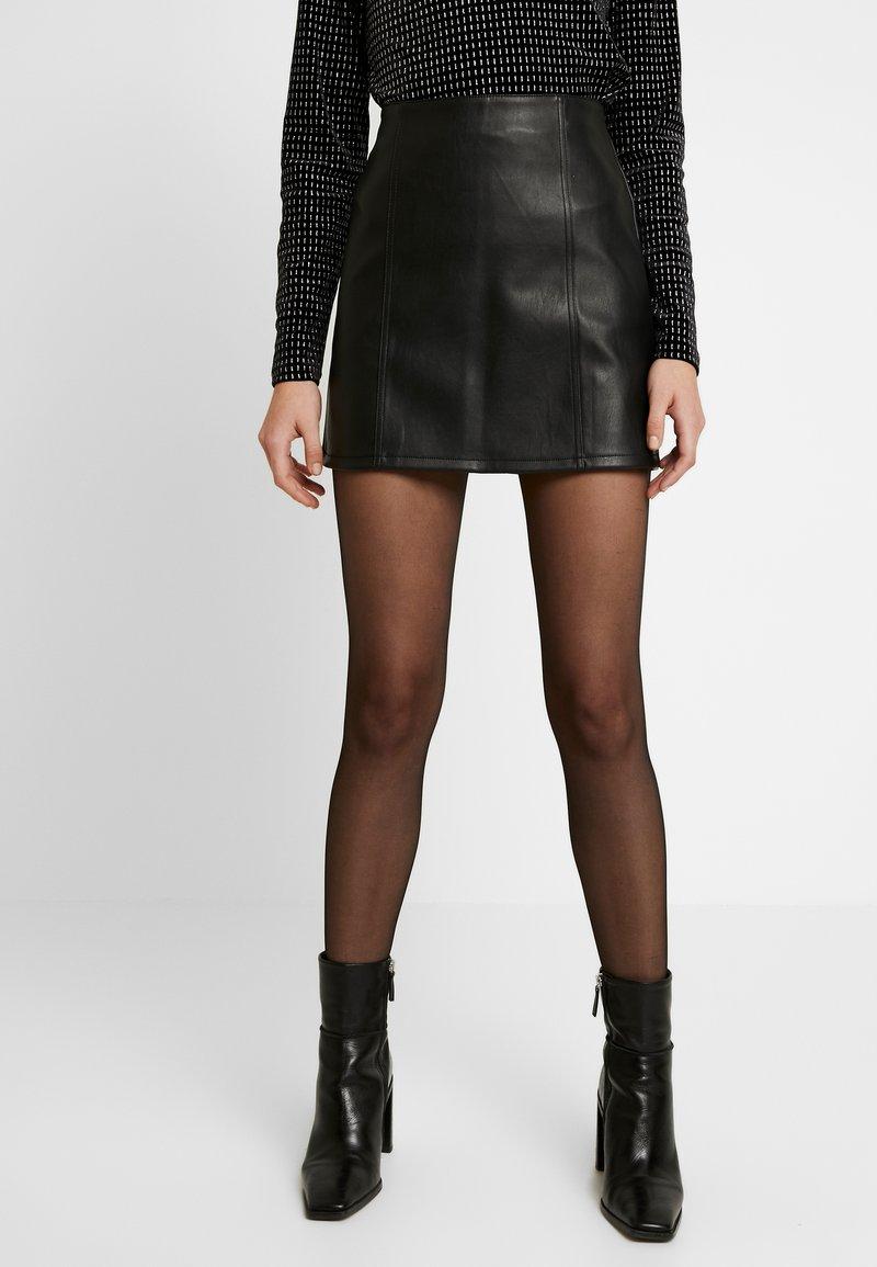 Miss Selfridge - SKIRT - Áčková sukně - black