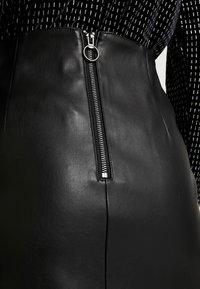 Miss Selfridge - SKIRT - Áčková sukně - black - 4