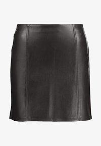 Miss Selfridge - SKIRT - Áčková sukně - black - 3