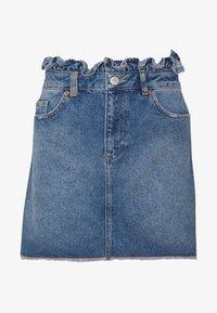 Miss Selfridge - Gonna di jeans - mid blue - 3