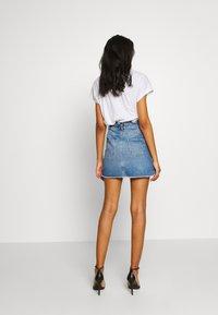 Miss Selfridge - Gonna di jeans - mid blue - 2