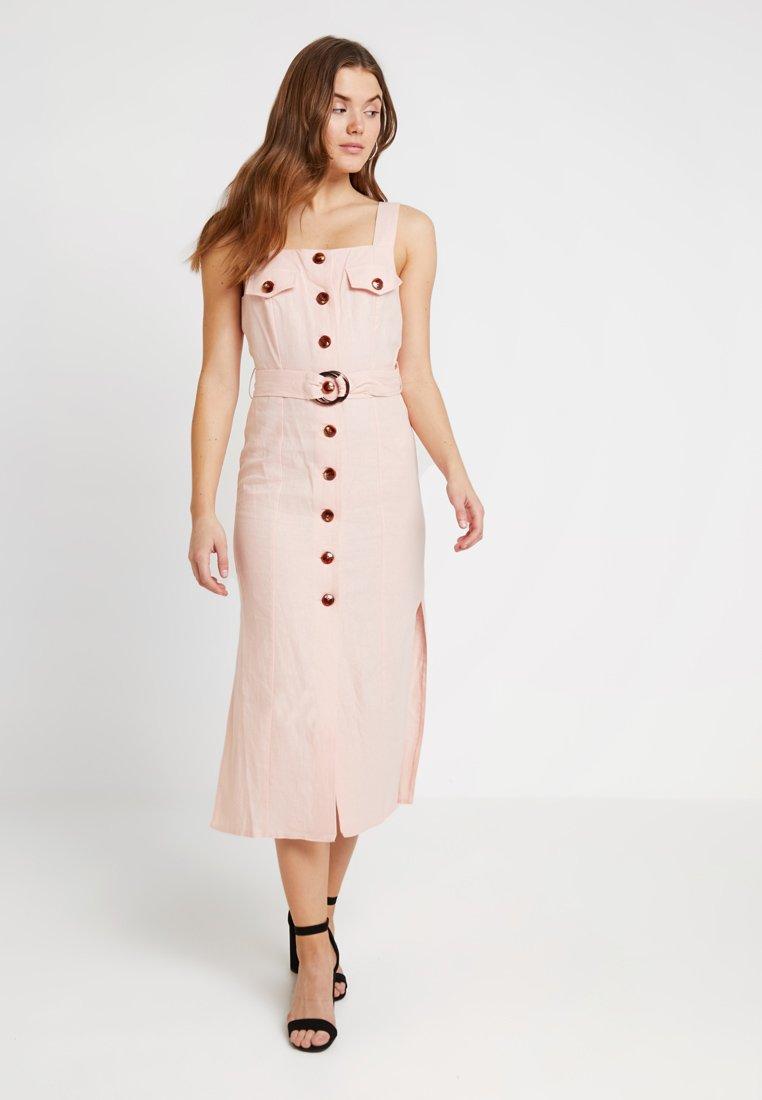Miss Selfridge - UTILITY DRESS - Maxi dress - pink