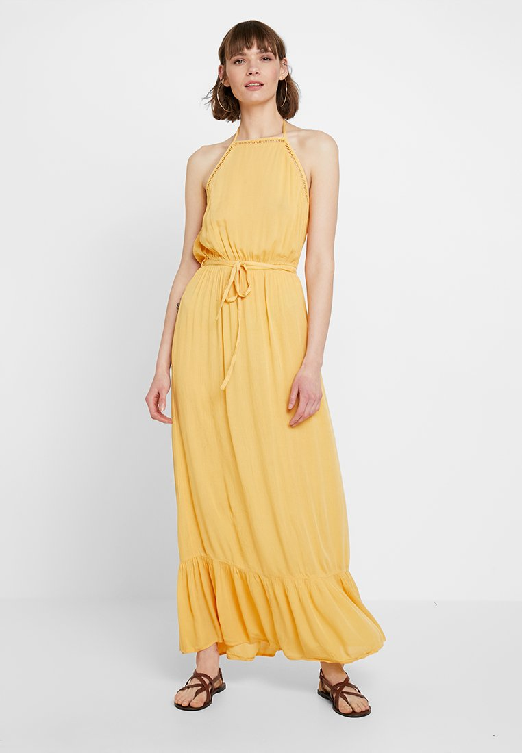 Miss Selfridge - CHEESECLOTH DRESS - Vestito lungo - yellow