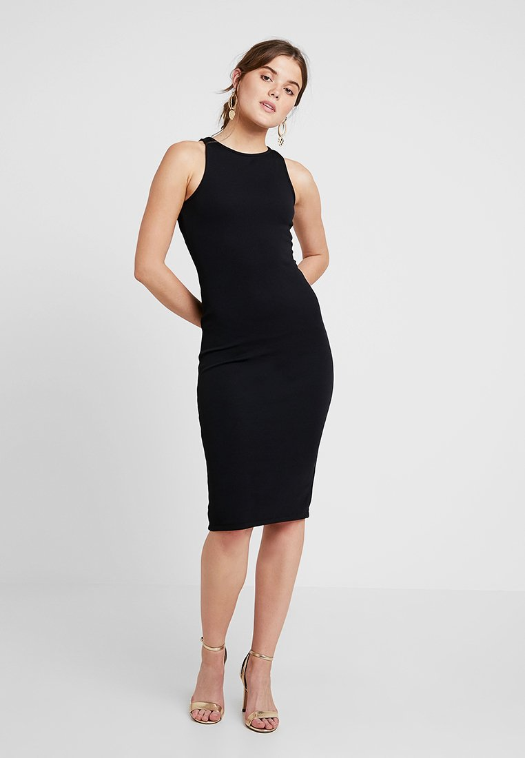 Miss Selfridge - BODYCON MIDI - Tubino - black