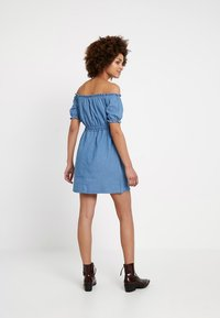Miss Selfridge - BARDOT DRESS - Spijkerjurk - blue - 3