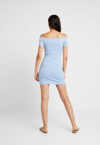 Miss Selfridge - BUTTON DRESS - Robe fourreau - blue - 3