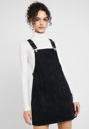 PINNY DRESS - Jeansklänning - black
