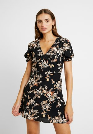 DITSY TEA DRESS - Robe d'été - black