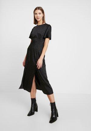 MINI SPOT MIDI DRESS - Day dress - black