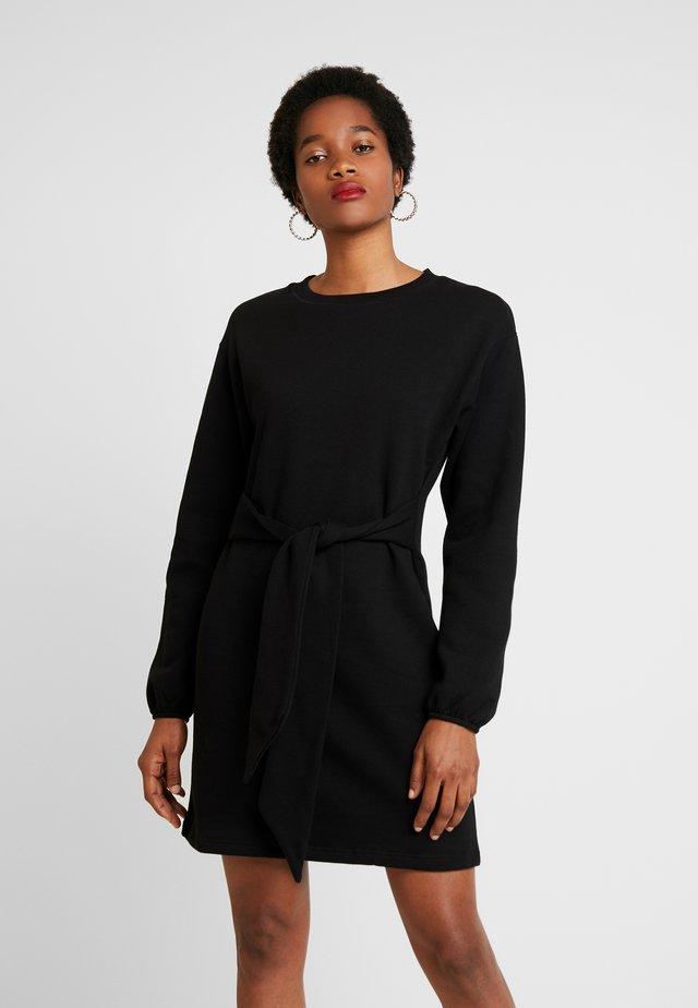 MINI DRESS - Day dress - black