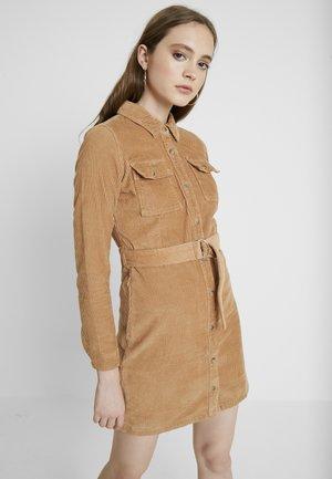Košilové šaty - beige
