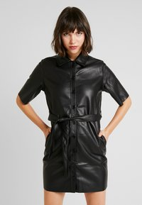 Miss Selfridge - DRESS - Shirt dress - black - 0
