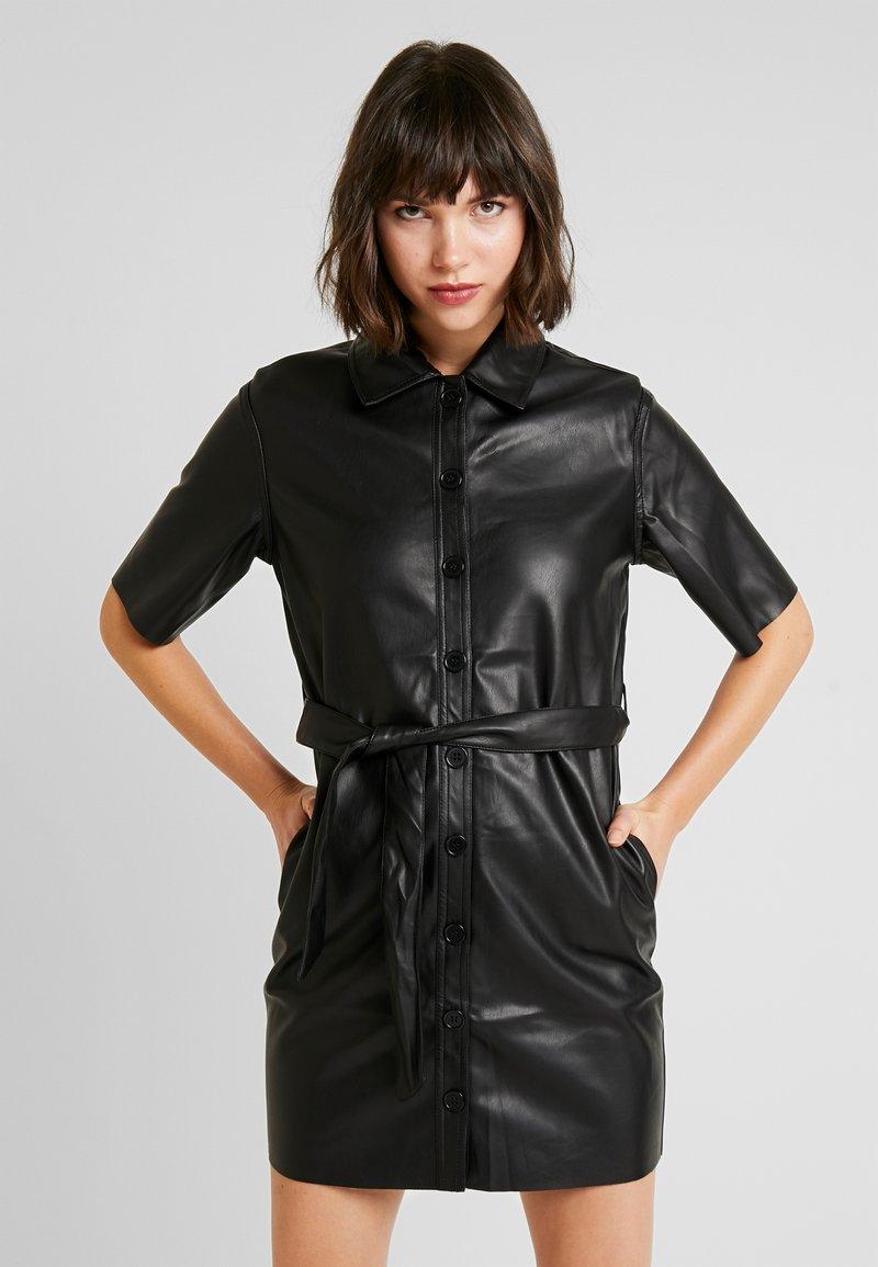 Miss Selfridge - DRESS - Shirt dress - black