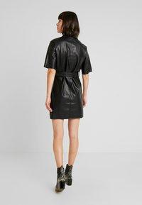 Miss Selfridge - DRESS - Shirt dress - black - 3