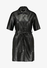 Miss Selfridge - DRESS - Shirt dress - black - 5