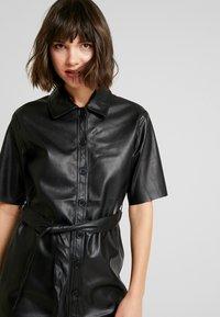 Miss Selfridge - DRESS - Shirt dress - black - 4