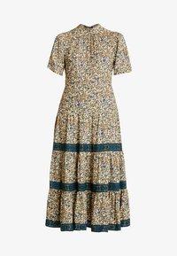 Miss Selfridge - CREAM FLORAL TIERED MIDI DRESS - Maxi dress - cream - 5