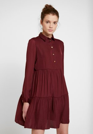 SHIRT DRESS - Robe chemise - burgundy