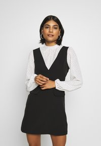 Miss Selfridge - SPOT MINI - Day dress - black - 0