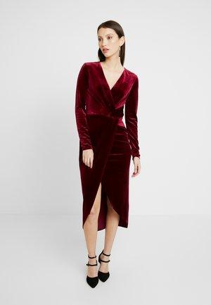 TWIST - Robe de soirée - burgundy