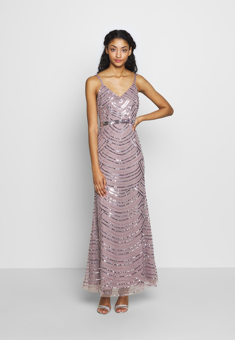 Miss Selfridge - MAXI DRESS - Iltapuku - mink