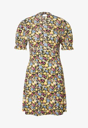 HIGH NECK TEA DRESS - Vestido informal - multi