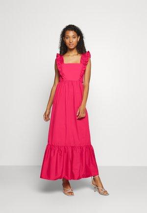 POPLIN - Długa sukienka - pink