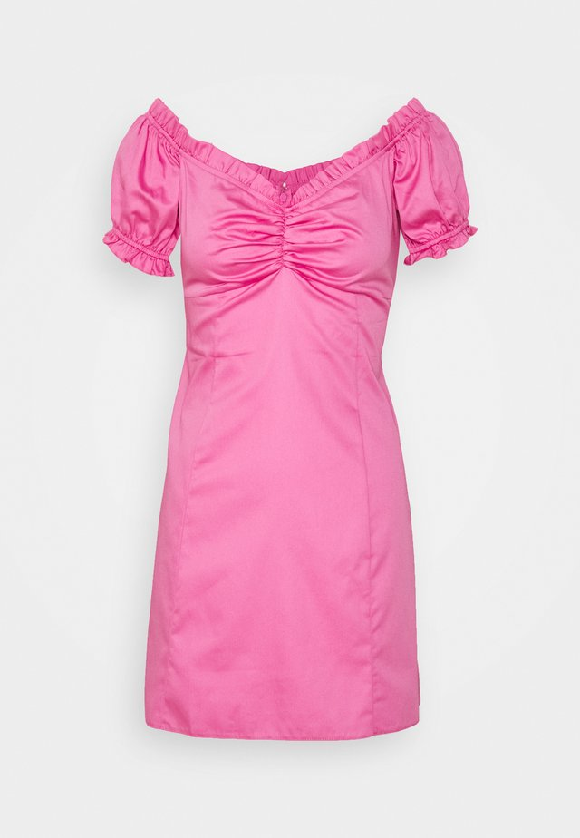 PINK POPLIN MINI  - Sukienka letnia - pink