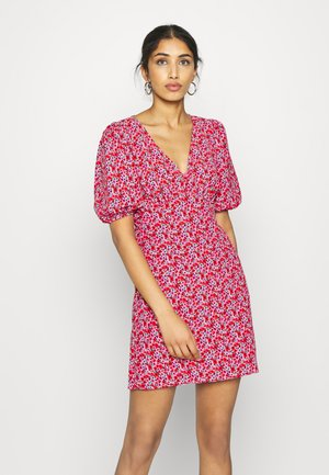 TEA DRESS - Korte jurk - red