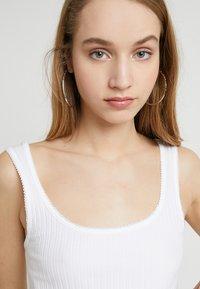 Miss Selfridge - PICOT - Top - white - 3