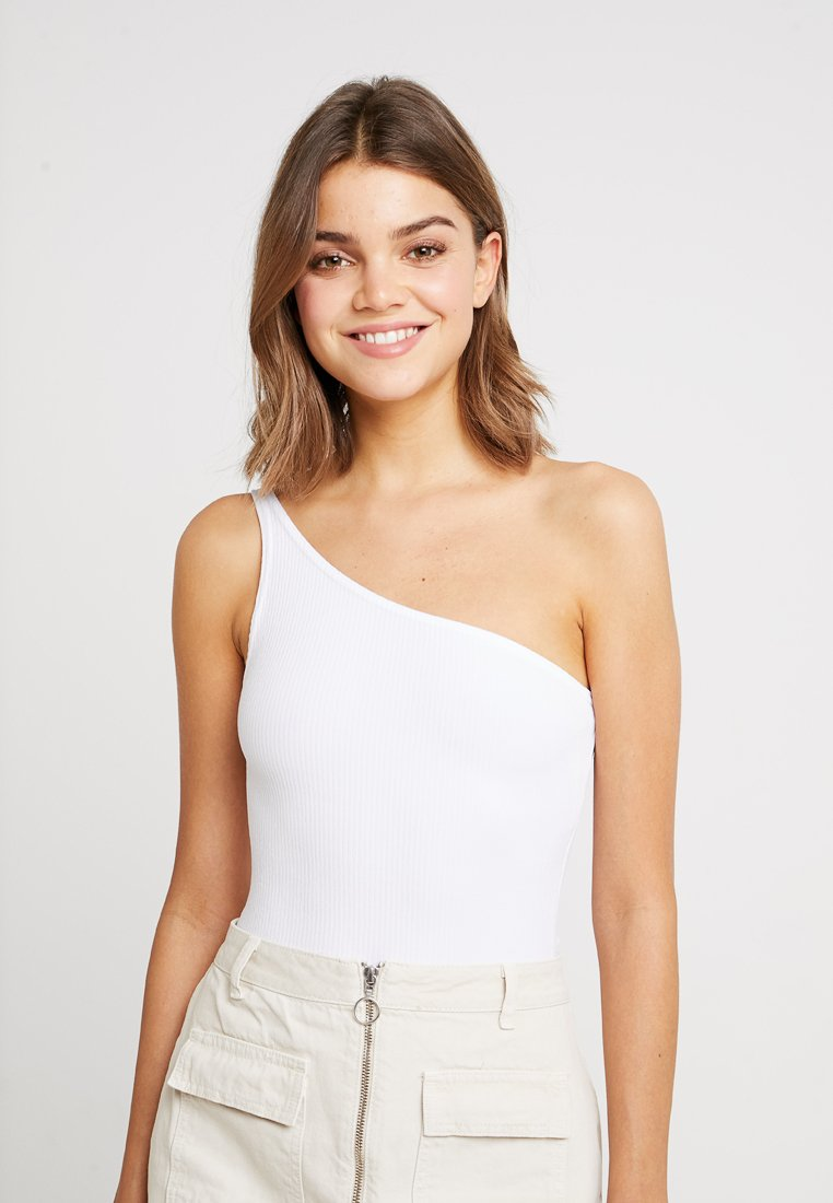 Miss Selfridge - ONE SHOULDER BODY - Top - white