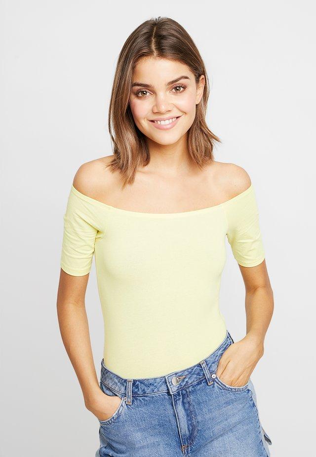 BARDOT BODY MARKER - Basic T-shirt - lemon