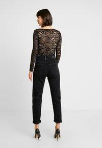 Miss Selfridge - T-shirt à manches longues - black - 2