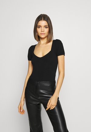 PUFF SLEEVE  - Body - black