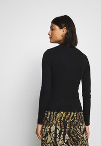 Miss Selfridge - TURTLE NECK - Long sleeved top - black - 2
