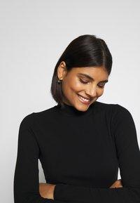 Miss Selfridge - TURTLE NECK - Long sleeved top - black - 3