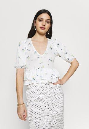 BUTTON THRU TIERED  - Bluse - multi-coloured