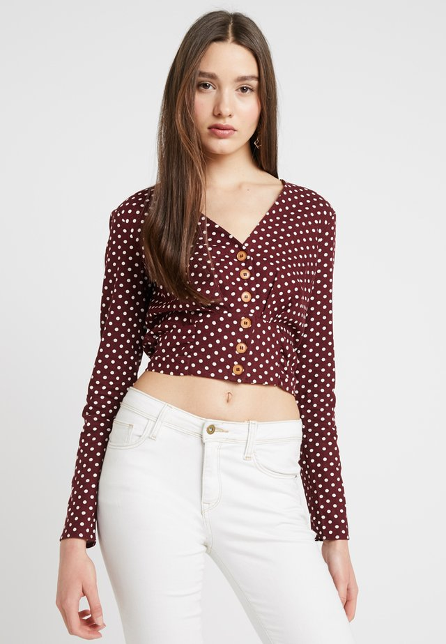 SPOT - Blouse - red