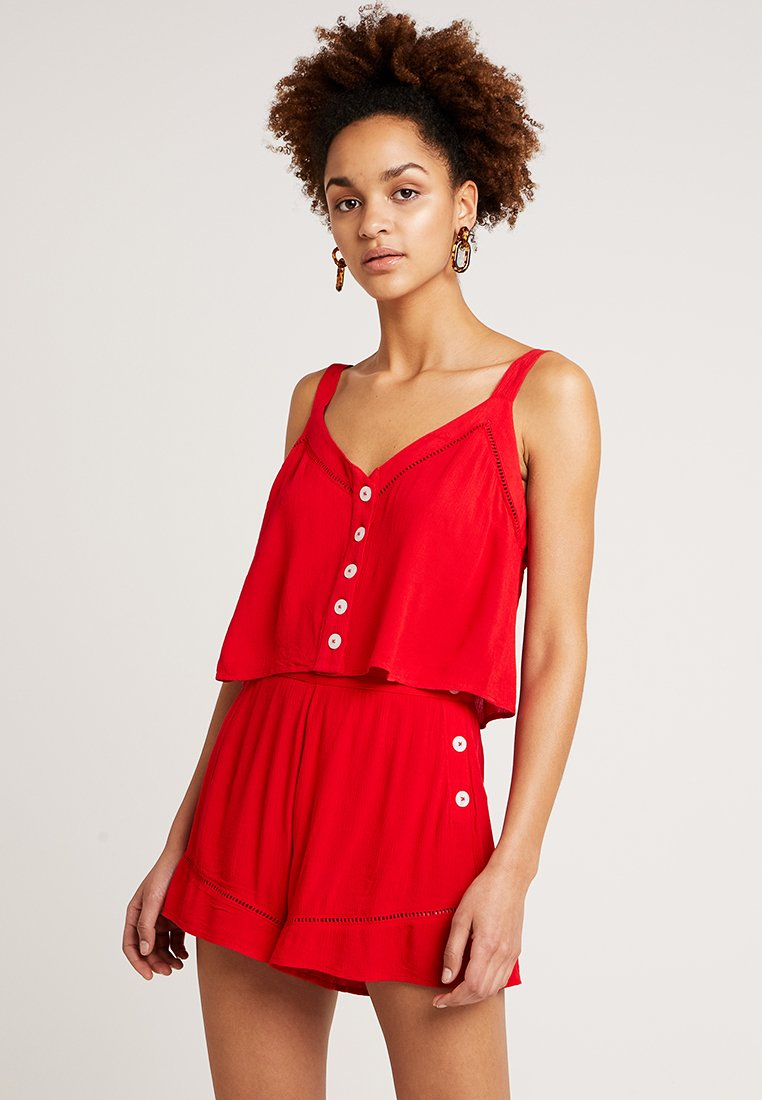 Miss Selfridge - EPP CAMI  - Blouse - red