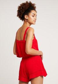 Miss Selfridge - EPP CAMI  - Blouse - red - 2