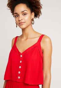 Miss Selfridge - EPP CAMI  - Blouse - red - 3