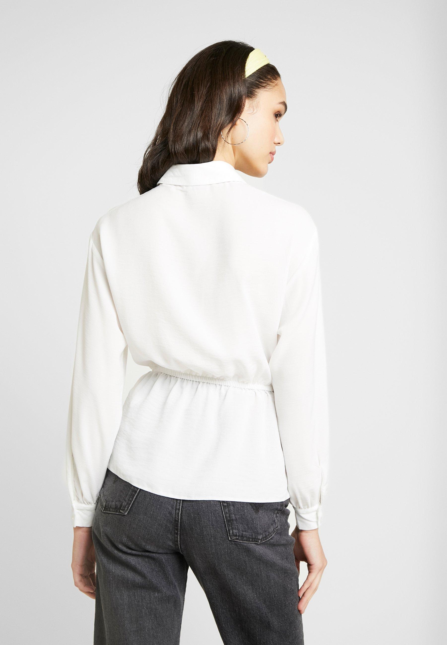 Drawstring Sleeve White Selfridge Miss ShirtCamicia Long wlkTuOPXZi