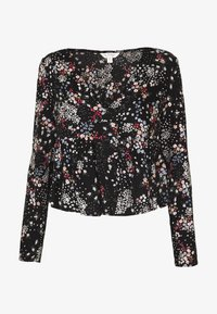 Miss Selfridge - LONG SLEEVE TEA - Bluser - black - 3