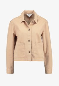 Miss Selfridge - SHACKET - Jeansjakke - beige