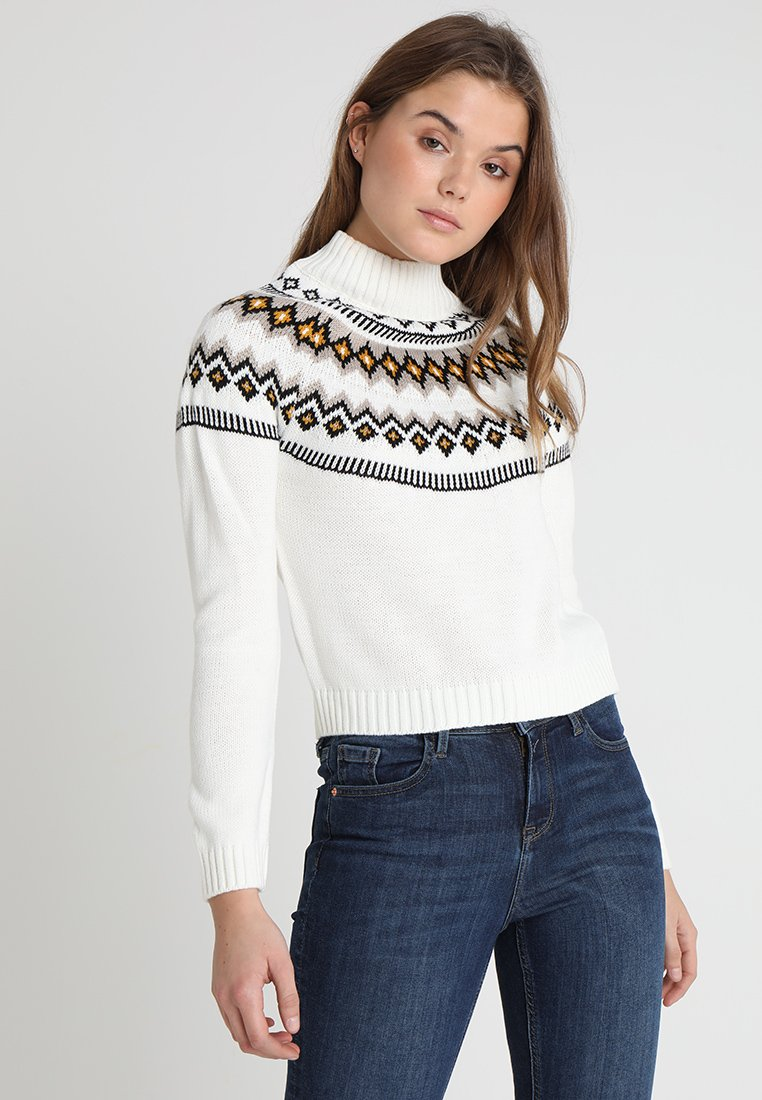 Miss Selfridge - FAIRILSE JUMPER - Strickpullover - cream