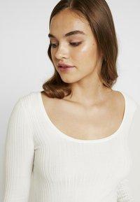 Miss Selfridge - SCOOP NECK LONG SLEEVE - Maglione - cream exclusive - 4