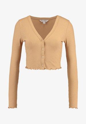 LETTUCE EDGE - Vest - camel