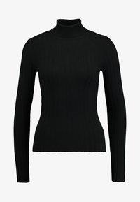 Miss Selfridge - ROLL NECK REPEAT - Jumper - black - 4