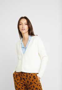 Miss Selfridge - LASH CARDI - Kofta - cream - 0