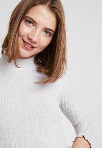 Miss Selfridge - FRILL CUFF - Jumper - grey marle - 4